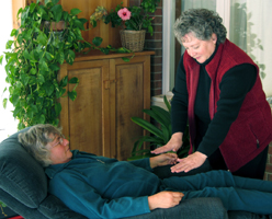Therapeutic Touch releives Stress & Anxiety